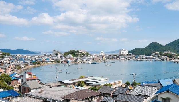 広島県福山市鞆の浦とその周辺